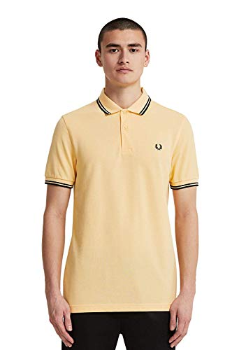 Fred Perry Twin Tipped Shirt Pleapr/Black/Black LG
