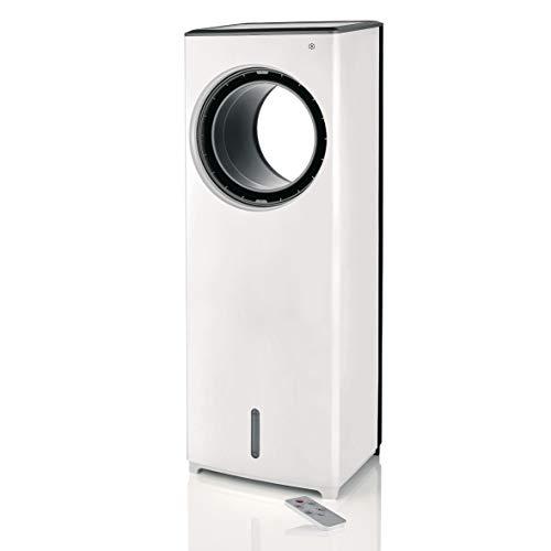 Unold 86990 Air Cooler Fresh, mit separat zuschaltbarem Verdunstungskühler für optimales Raumklima, 3 Lüftungsmodi, zuschaltbarer Oszillation, Timer-Funktion