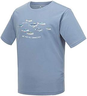 (モンベル) Mont-bell Wickron T-シャツ 男女共用 夏の半袖ラウンドシャツ 絶滅 危惧動物 保護Campaign -ヨルモクオ II LENOK II [並行輸入品]