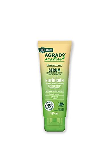 Serum para el pelo 200 ml Nutrición Cosmética Natural Ingredientes Naturales Vegano Botánicos AGRADO Nature