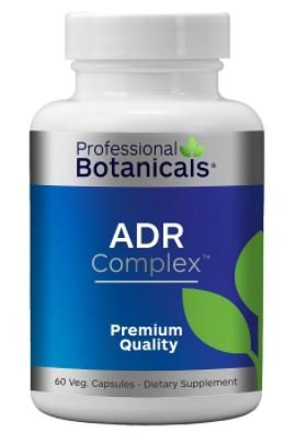 Professional Botanicals Adrenal Complex (Stress Support) 60 Veg Capsules