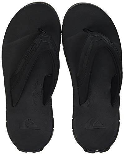 Quiksilver Herren Coastal Excursion TRAVEL SANDL Water Shoe, Black Black Brown, 39 EU