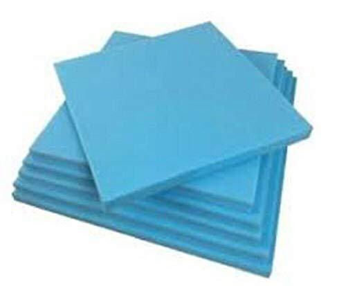 Pinkfairyz High Density Blue Cut to Size Foam 20'' x 20'' x 2''