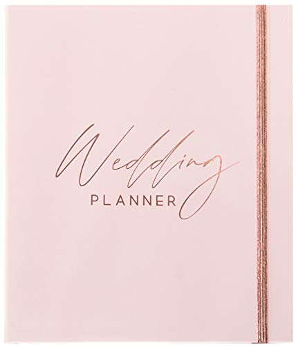 Luxury Wedding Planner | Wedding Organizer Book with Beautiful Souvenir Gift Box | Perfect Wedding Journal for Brides | with Checklists, Calendar, Budget Planning, Guest List | Pink & Rose