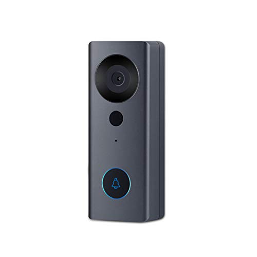 Tuya Smart Life WIFI Video Türklingel, Nachtlicht 1080P Visuelle Tür Telefonanruf Audio Intercom Alarmkamera Arbeiten...
