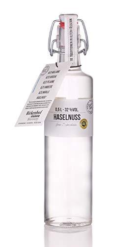 BIRKENHOF Brennerei | Haselnuss - feine Spirituose aus gerösteten Haselnüssen | (1 x 0,5l ) - 32 % vol.