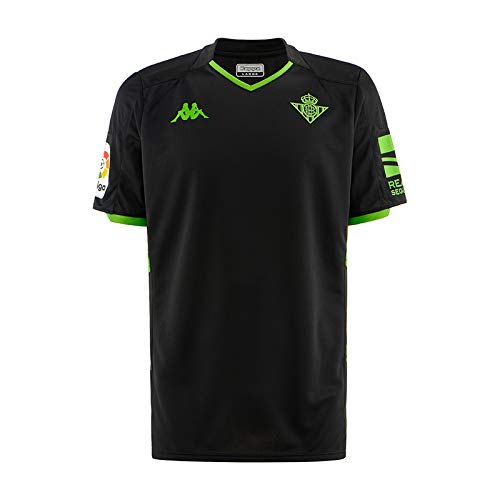 Kappa Official Away Betis Jersey Act, Hombre