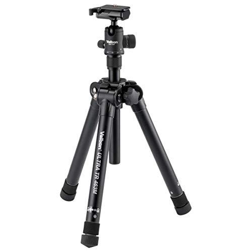 Velbon Ultra TR 463M Digitale film/camera's met 3 voeten, zwart, statief (digitale camera's, 3 kg, 3 voeten, 153 cm, zwart, 28,3 cm)