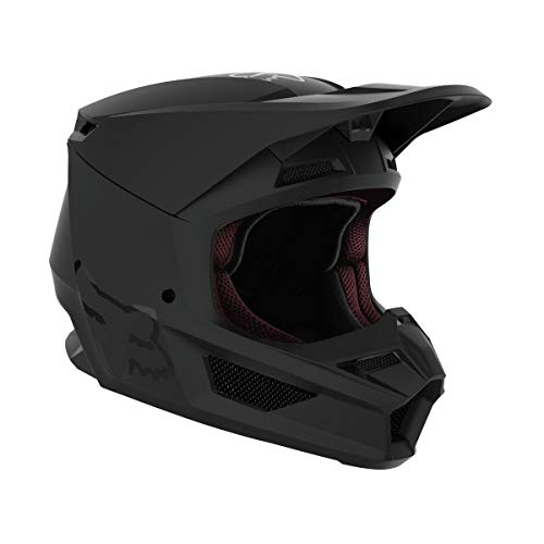 Fox Racing V1 Matte Helmet - (Small) (Matte Black)