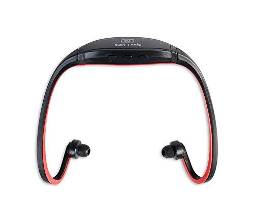 Vetrineinrete Cuffie da sport con lettore mp3 integrato senza fili wireless auricolari da palestra jogging corsa senza filo G3