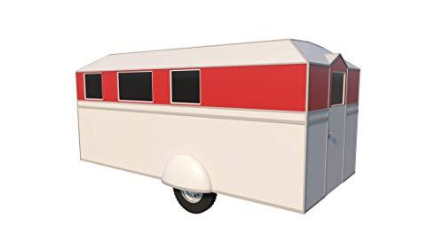 17' Pop Up Camper - Plans DIY Camping Trailer RV Pop-Up Caravan Project Travel