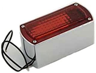 V-Twin 33-0310 - Chrome Die Cast Box Style Tail Lamp