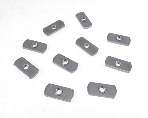 10 Pack 1/4-20 Spot Weld Nuts - Double Tab - ND 2118