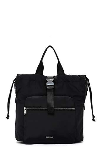 Emily & Noah Rucksack Suza-Nylon 61941 Damen Rucksäcke Uni black 100 One Size