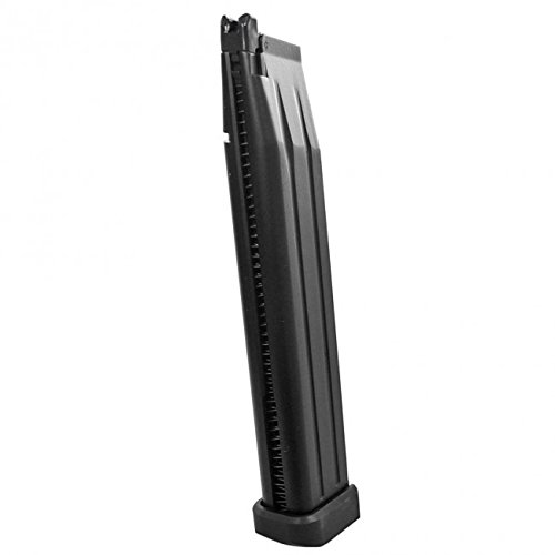 Airsoft WE M1911 / 1911 Hi-Capa Extended 50rd Gas Pistol Magazine