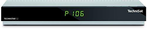 TechniSat TECHNISTAR S2 / HD Sat-Receiver mit Single-Tuner für Empfang in HD, UPnP-Livestreaming, Ethernet, PVR- und Timeshift-Funktion, silber