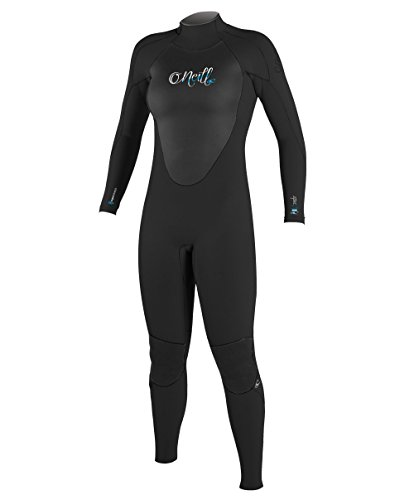 O'Neill Wetsuits Damen Neoprenanzug Epic 5/4 mm Full Wetsuit, Black, 6