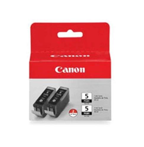 Canon PGI-5 BK Tintenpatronen Doppelpack 2 x 26ml, schwarz