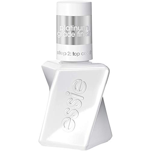 Essie gel couture Top Coat, Schutz und Gel-Finish ohne UV/LED Licht, Transparent, 13.5 ml