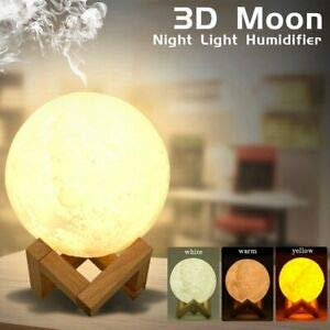 Desconocido Humidificador difusor 3D Moon 800 ml