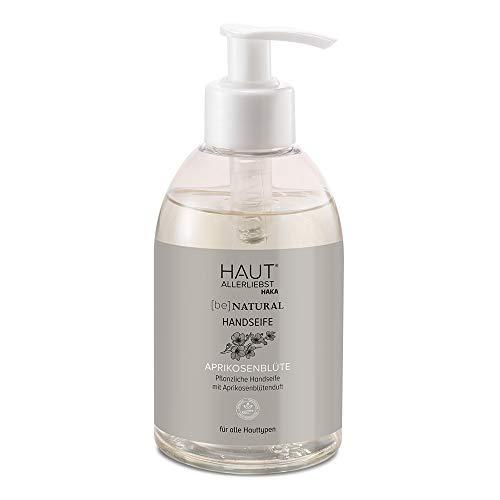 HAKA Handseife Aprikosenblüte I 260 ml I Sanfte Reinigung I für ein geschmeidiges Hautgefühl I Für alle Hauttypen