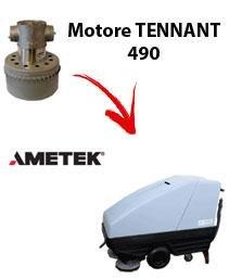 Motor Ametek Einlassventil für Bodenwischer Tennant 490