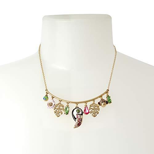 Betsey Johnson Toucan Shaky Charm Necklace