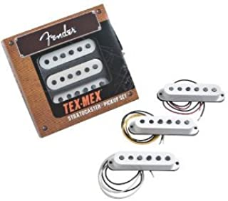Fender Tex-Mex strat white