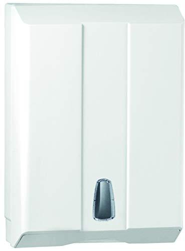 Mar Plast dispensador Hojas de Papel Toallas de Z C V Blanco de plástico