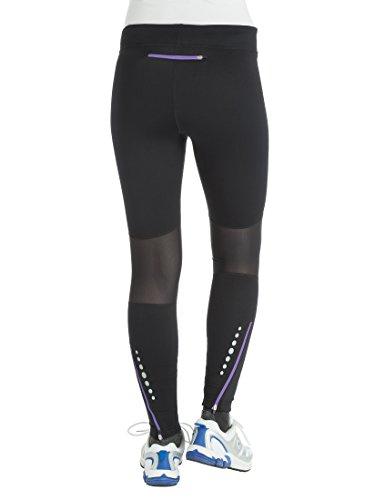 Ultrasport Professional Damen Funktions-Laufhose Windprotect mit Windstopper,Winterlaufhose, Sporthose, Kompressionswirkung, Quick-Dry-Funktion, Fleece angeraut, weitenverstellbar, Mesheinsätze - 2