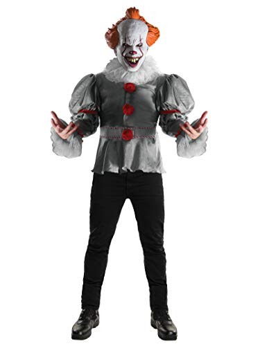 """Rubie's Premium-Kostüm, """"Clown Pennywise"""" von Stephen King, für Erwachsene, Einheitsgröße, Artikelnummer 820859"""