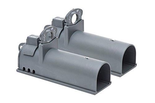 Victor Pack de 2 trampas Clean Kill de Ataque Limpio para Ratones-Ratonera de Calidad con diseño en túnel para atrapar y capturar roedores-Duradero, higiénico y eficaz #M162S, Gris