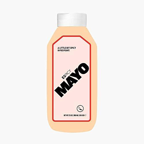 ESPICY Mayo 960 ml | Mayonesa con el Toque Perfecto de Picante | Cremosa | Sin Gluten | Apto para Vegetarianos | Keto Friendly | Hecho en España | Picor: 2/10