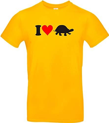 Shirtstown Kinder-Shirt lustige Tiere I love Tiere Schildkröten, kult, Größe 104-164