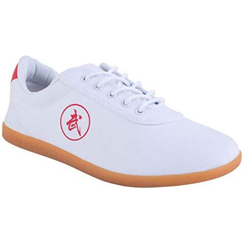 GHJUH Zapatos de Taekwondo Zapatillas de Deporte de Artes Marciales Transpirables Boxeo Kung Fu Tai Chi Calzado Deportivo Gimnasio Ejercicio Equipo de protección para los pies, para Adultos y niños
