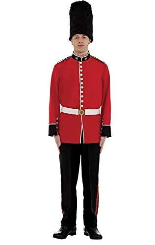 ORION COSTUMES Disfraz Uniforme de Guardia del Palacio Real Rojo para Hombres