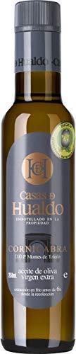 CASAS DE HUALDO - Aceite De Oliva Virgen Extra Cornicabra 250Ml - Pack De 12 Botellas
