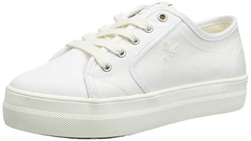 Gant Leisha, Zapatillas Mujer, Blanco (White G29), 40 EU