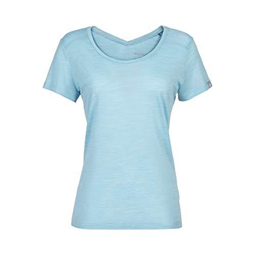 Mammut Alvra T-Shirt Femme Whisper Mélange FR: S (Taille Fabricant: S)