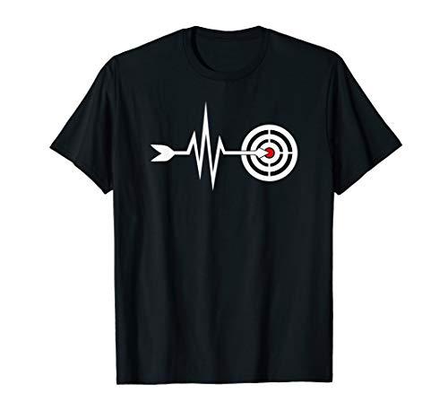 Mein Herz schlägt für Bogenschiessen - Bogensport T-Shirt