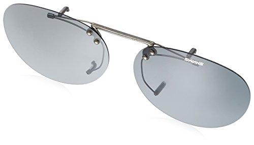 SWANS(スワンズ) サングラス メガネにつける クリップオン 跳ね上げタイプ SCP-3 LSMK2 偏光ライトスモーク2