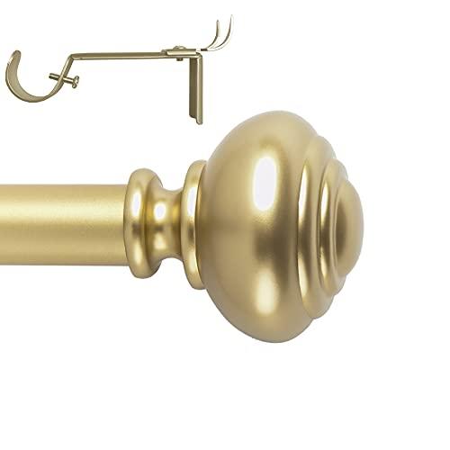 Gold Curtain Rod 72-144