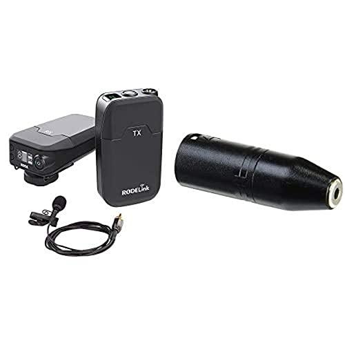 Rode 400836010 Link Filmmaker Kit + Røde VXLR 3,5mm Miniklinke-XLR-Adapter Bundle