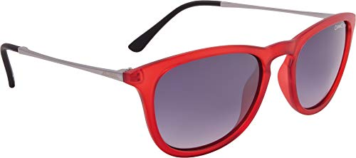 ALPINA ZARYN CM - Occhiali da sole unisex, da adulto, colore: rosso trasparente opaco, taglia unica