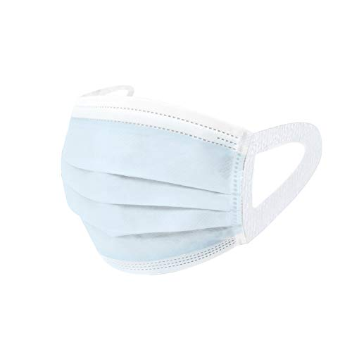Face Mask, Pack of 50 - Blue