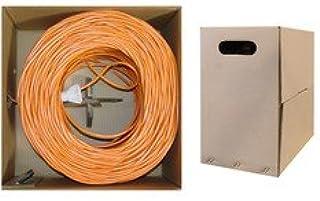 1000 Foot UTP CLASSYTEK Bulk Cat6 Blue Ethernet Cable Pullbox Solid Unshielded Twisted Pair