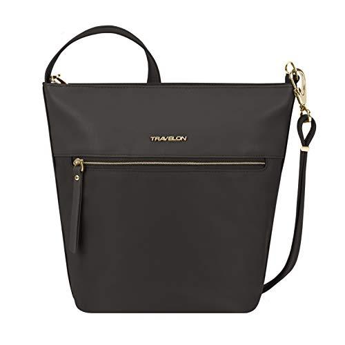 Travelon Bucket Bag, Black, One_Size