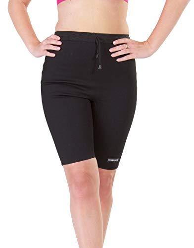 Lanaform Cycliste Noir – Panty Minceur anticellulite de Sudation (Taille 3)