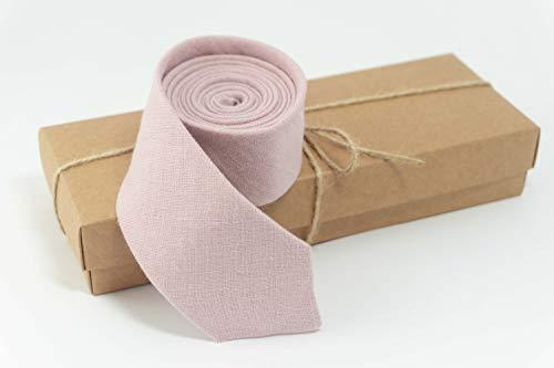 Dusty rose necktie for men | mens skinny ties, best mens ties