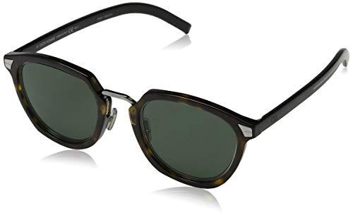Dior DIORTAILORING1 QT 086 Gafas de sol, Marrón (Dark Havana/Green), 49 para Hombre